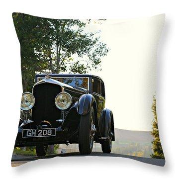 Bentley Speed 6 Corsica Throw Pillow