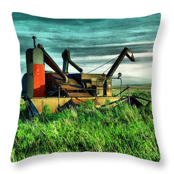 Bereft Combine Throw Pillow