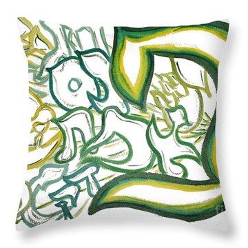 Bereshit In The Pey Throw Pillow