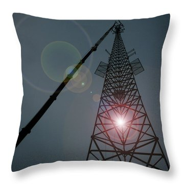 Throw Pillow featuring the photograph Berkeley Springs by Robert Geary