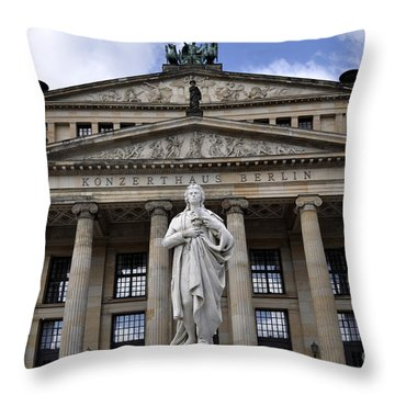 Berlin 4 Throw Pillow