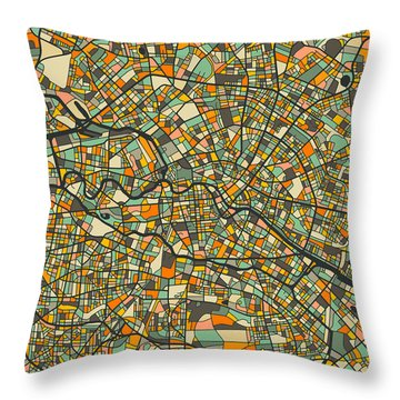 Berlin Throw Pillows