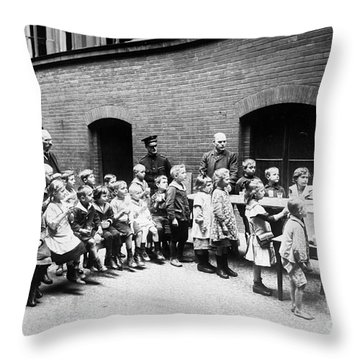 Berlin: Salvation Army Throw Pillow by Granger