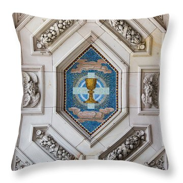 Berliner Dom Mosaics Throw Pillow