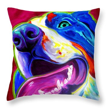 Bernese - Sunshine Throw Pillow