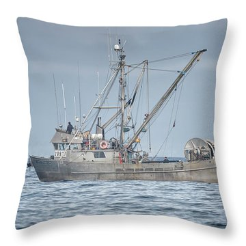 Throw Pillow featuring the photograph Bernice C by Randy Hall