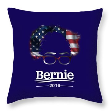 Bernie Sanders 2016 Throw Pillow