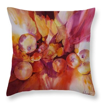 Berries Beautiful Throw Pillow