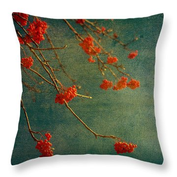 Berry Nice Throw Pillow