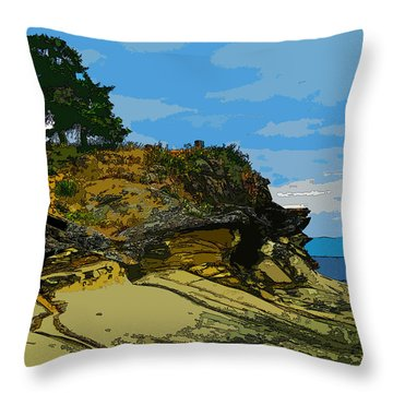 Berry Point Throw Pillow