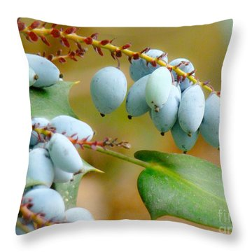 Berrylicious  Throw Pillow