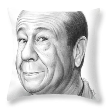 Bert Lahr Throw Pillow