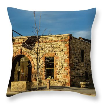 Berthoud Museum Throw Pillow