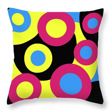Bertie Throw Pillow by Oliver Johnston