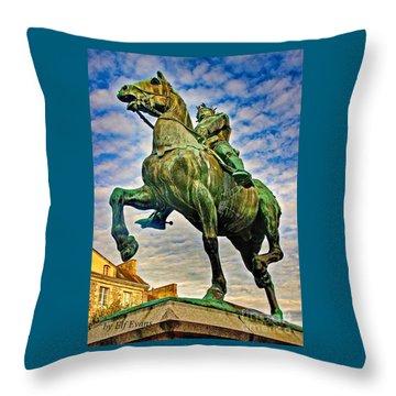 Bertrand Du Guesclin Throw Pillow