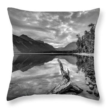 Beside Still Waters Throw Pillow