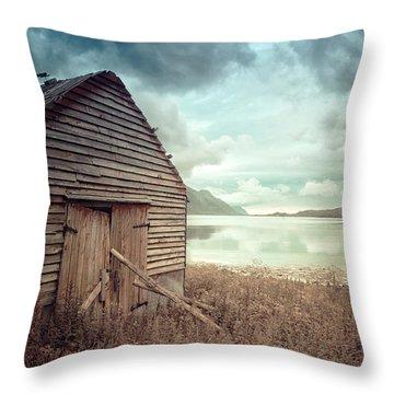 Beside The Lake Throw Pillow