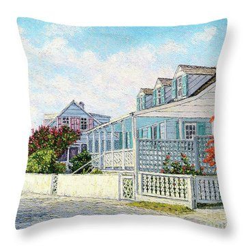 Beside The Point I Throw Pillow