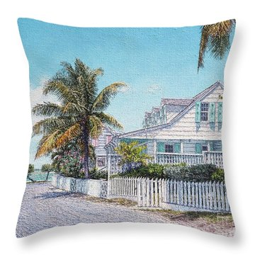 Beside The Point II Throw Pillow