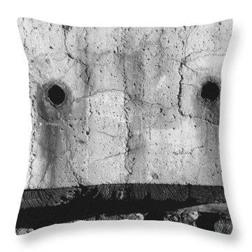 Besieged Throw Pillow