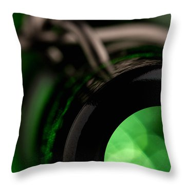 Best Beer Throw Pillow by Yvette Van Teeffelen