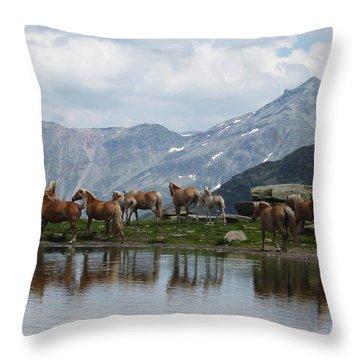 Best Creatures Throw Pillow