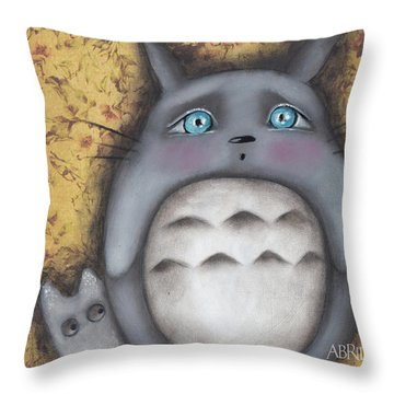 Best Friend Throw Pillow by Abril Andrade Griffith