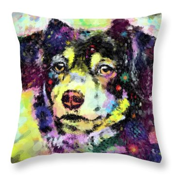 Best Friend Throw Pillow by Gary Grayson