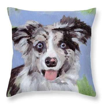 BFF Throw Pillow