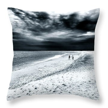 Best Friends Forever Throw Pillow by John Rizzuto