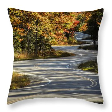 Best Road Ever Throw Pillow