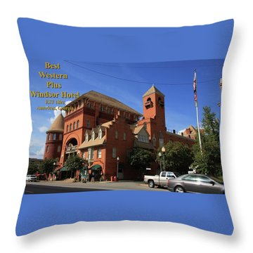 Best Western Plus Windsor Hotel -2 Throw Pillow