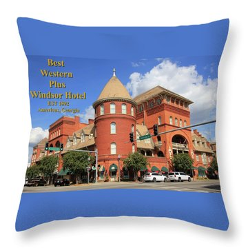 Best Western Plus Windsor Hotel Throw Pillow
