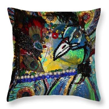 Beth - Our True Colors Survivor Throw Pillow