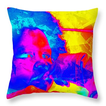 Look Above Hopelessness Throw Pillow
