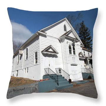 Bethel Ame Church  Huntington Throw Pillow