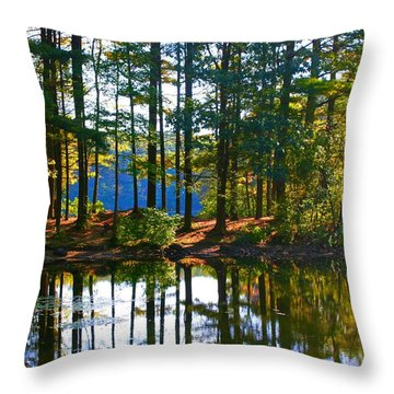 Bethel Homeschooling Hike Throw Pillow