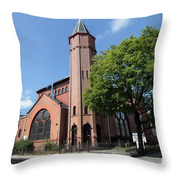 Bethesda Baptist Church Throw Pillow