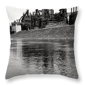 Bethlehem On The Lehigh Throw Pillow