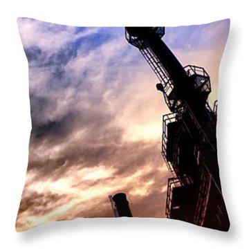 Bethlehem Steel Glory Throw Pillow