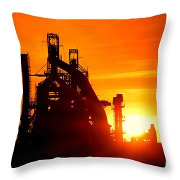 Bethlehem Sunset Throw Pillow