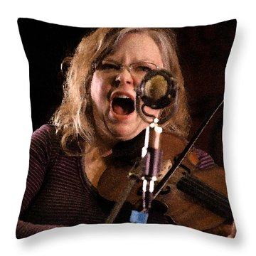 Betse Ellis Throw Pillow