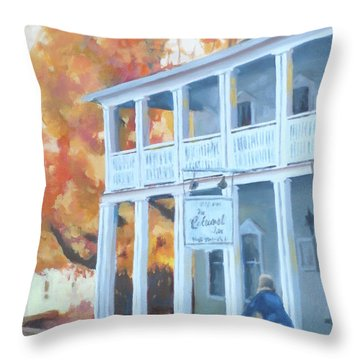 Better Days Throw Pillow by Carol Strickland