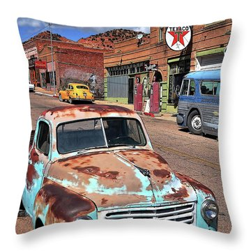 Better Days Throw Pillow by Gina Savage
