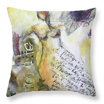 Better Life Throw Pillow