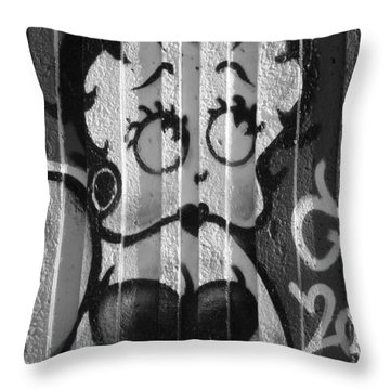 Betty Boop ... Throw Pillow by Juergen Weiss