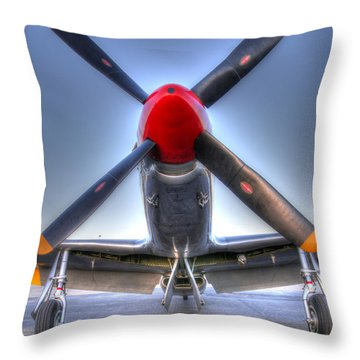 Betty Jane Throw Pillow