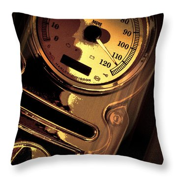 Between 110 And 120 Throw Pillow by Bob Orsillo