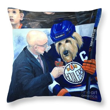 Between Periods Throw Pillow