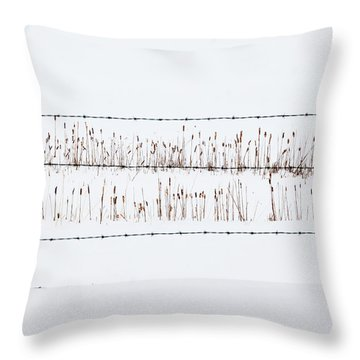Between The Lines - Throw Pillow